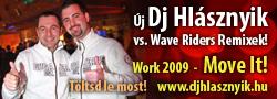 Újabb Dj Hlásznyik vs. Wave Riders remixek! Work 2009! Move It! Töltsd le most!