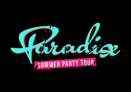 Paradise Summer Tour logo 2018.