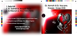 Dj Harmath & Dj Noyz pres. Energija - Snage maxi cd-n grafika. Első oldal. Rajta Dj Hlásznyik vs. Wave Riders remxie!