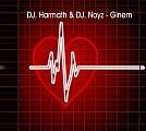Dj Harmath & Dj Noyz press Monique - Ginem Maxi cd borító. A lemezen Dj Hlásznyik vs. Wave Riders remixe!