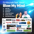 Dj Hlásznyik feat. Veron - Blow My Mind - Maxi Cd borító - Back.