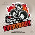 Holmes & Watson aka. Dj Hlásznyik vs. Wave Riders - Everybody maxi cd lemez bortító.